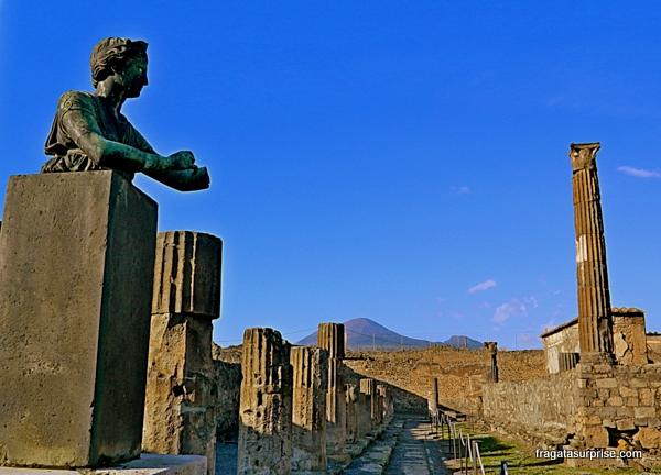 Ruínas de Pompeia - Fórum