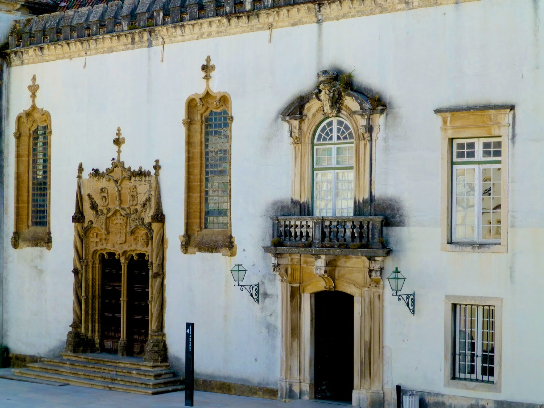 Fachada Capilla de San MIguel, Universidad de Coimbra