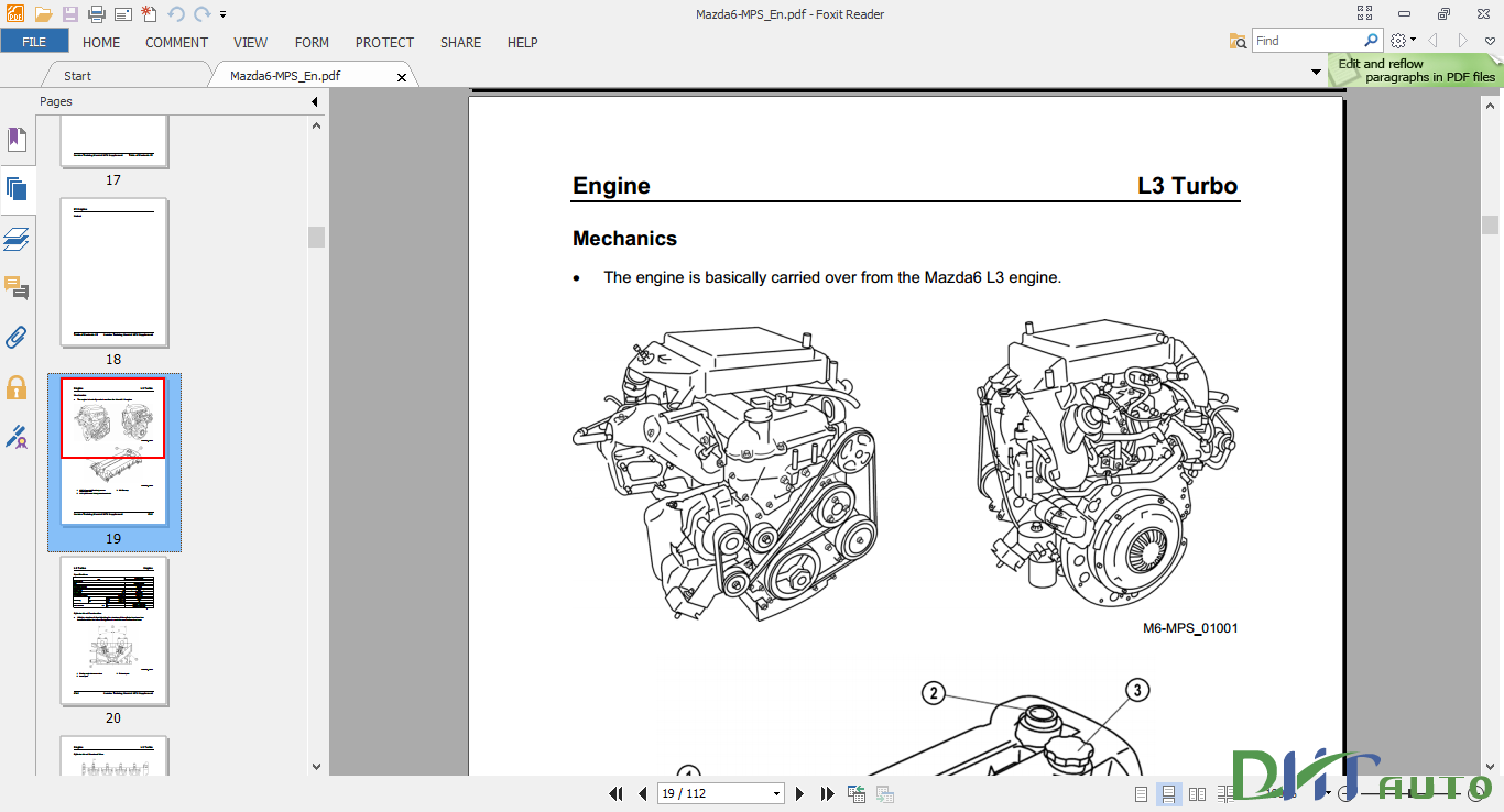 Mazda 3 Mps Wiring Diagram : Mazda mps supplement training manual automotive library