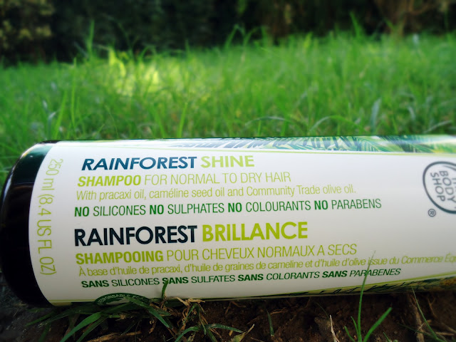 The Body Shop RAINFOREST SHINE Shampoo for Normal to Dry Hair