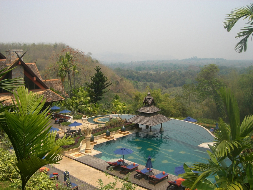 11. Golden Triangle Resort, Thailand