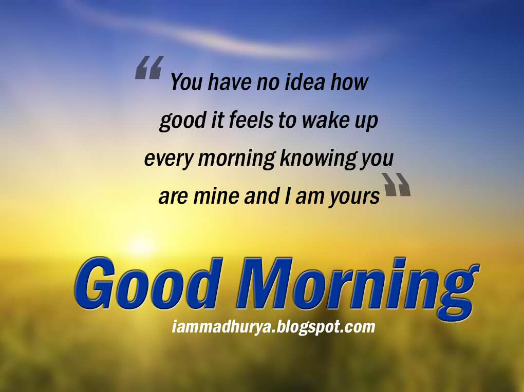 Best English Good Morning Quotes Wishes Madhuryas World Quotes
