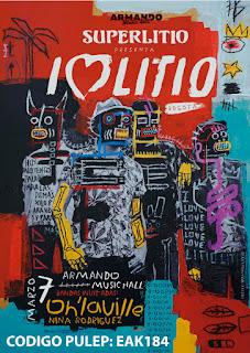 Poster SUPERLITIO, Oh ́laville y Nina Rodríguez y  en Bogotá