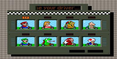 Super Mario Kart - Captura 1