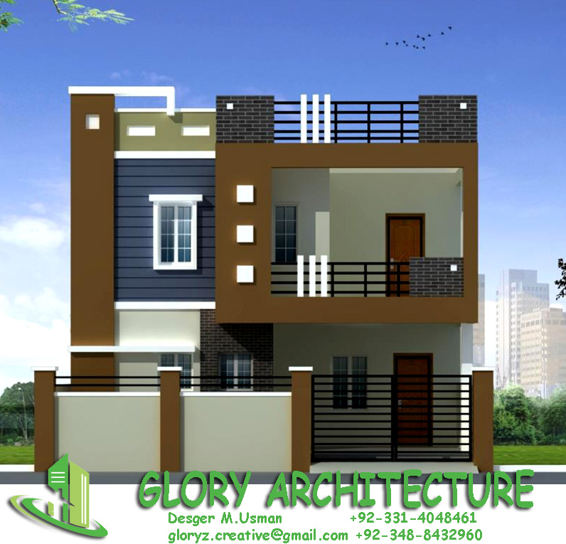 Front Elevation Of G 2 Building : House elevation islamabad pakistan