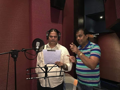 #instamag-hansa-ek-sanyogs-finishes-their-dubbing-session