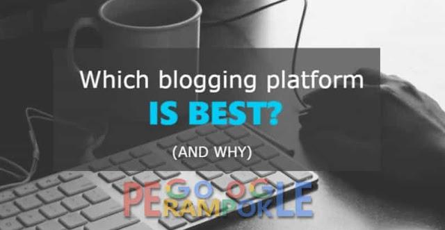 7 Platform Blogging Terpopuler dan Gratis 2018 Selain Blogger