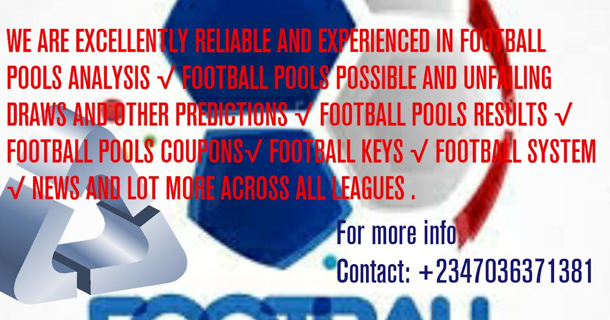 Stephsojam soccer pools: Week 16 soccer pools forecast