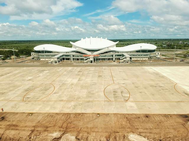 terminal baru bandara tjilik riwut palangkaraya