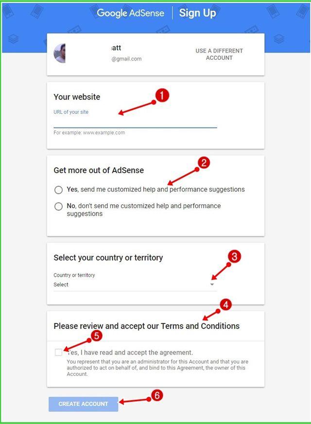 Google Adsense Account कैंसे बनाये Blog या website के लिए