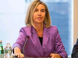 η επικεφαλής της ευρωπαϊκής διπλωματίας Φεντερίκα Μογκερίνι