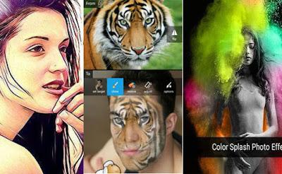 Aplikasi Edit Foto Android Keren dan Terbaik