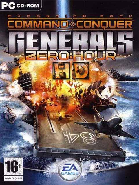 تحميل باتش تحويل لعبة Generals Zero Hour الى HD بمميزات رائعة