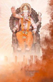 Ganapati photo editing background picsart