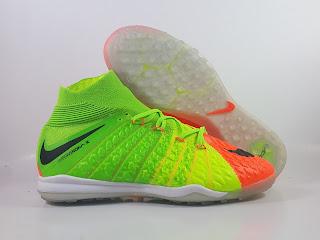 Nike HypervenomX Proximo II DF Turf - Electric Green Orange