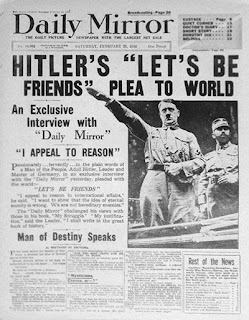 Adolf Hitler Daily Mirror worldwartwo.filminspector.com