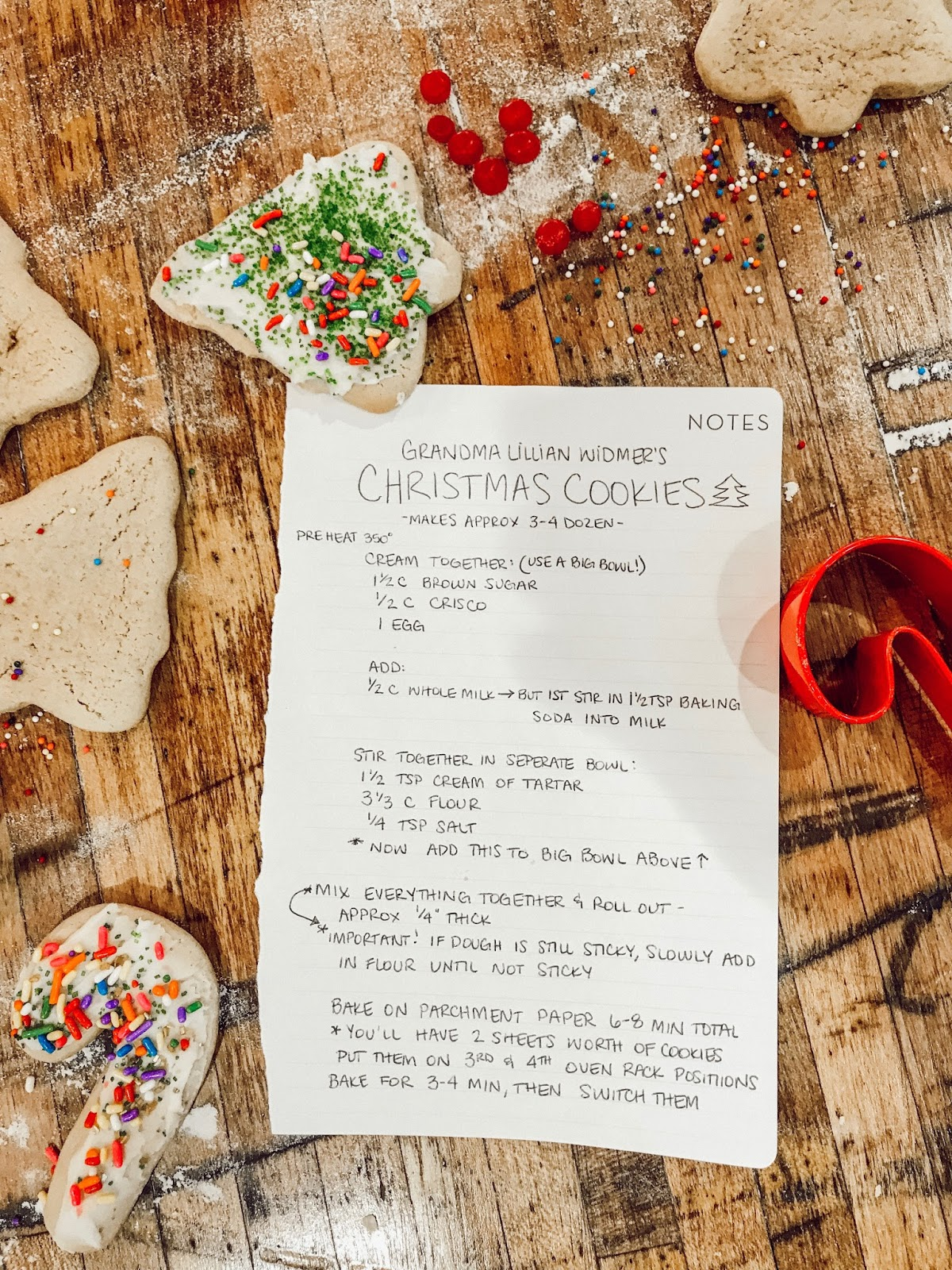 Hello June Bug Our Family Christmas Cookie Recipe