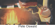Pete Oswald Illustration Cartoon