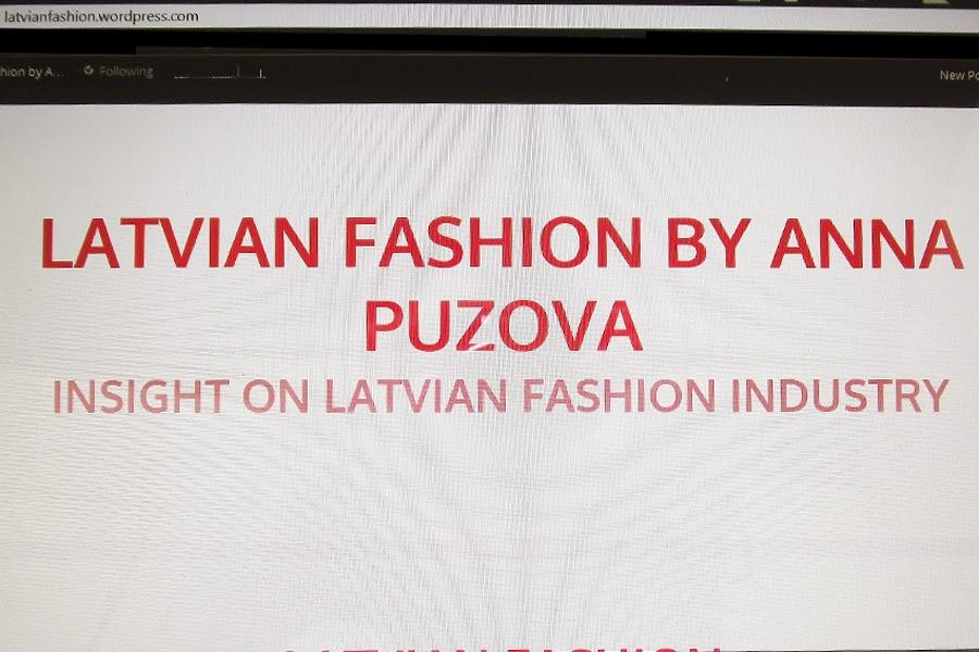 New Project: Latvian Fashion
