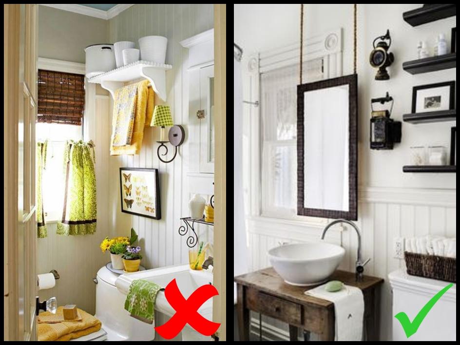 Decoraci n trendy 7 consejos para decorar un ba o de visitas for Distribucion de un bano pequeno