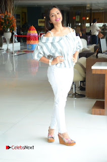 Actress Shweta Basu Prasad Latest Pictures in White Ripped Jeans  0186.JPG