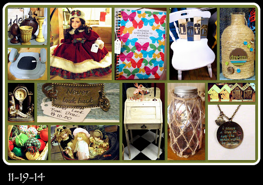 11-19-14 FRIDAY FAVE'S AND FLEA MARKET FINDS!!