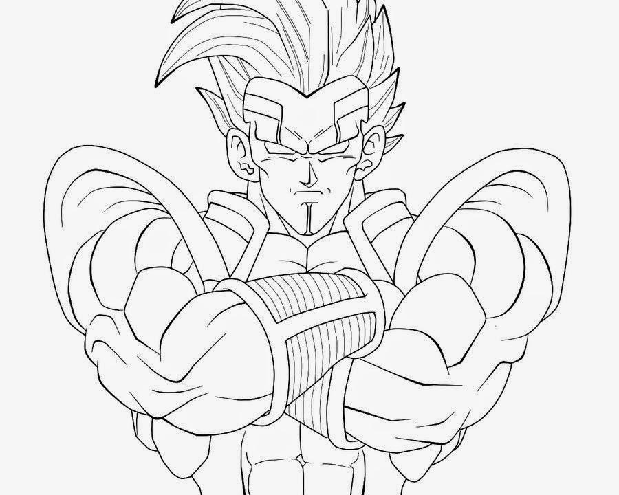 Desenhos Para Colorir Goku Super Saiyajin 4 Melhores Casas De