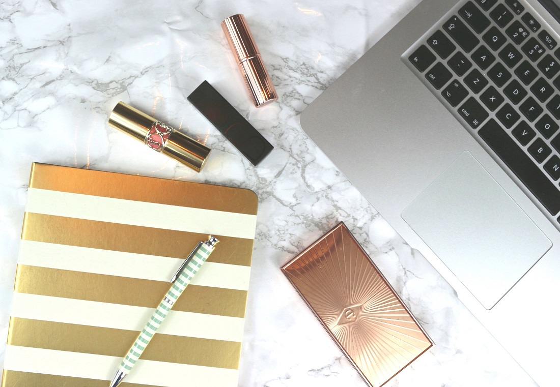 Why Do We Keep Our Blogs Secret From Our Real World MacBook Air Charlotte Tilbury NARS YSL Kate Spade
