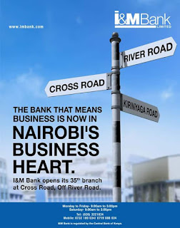 I&m bank cross road nairobi