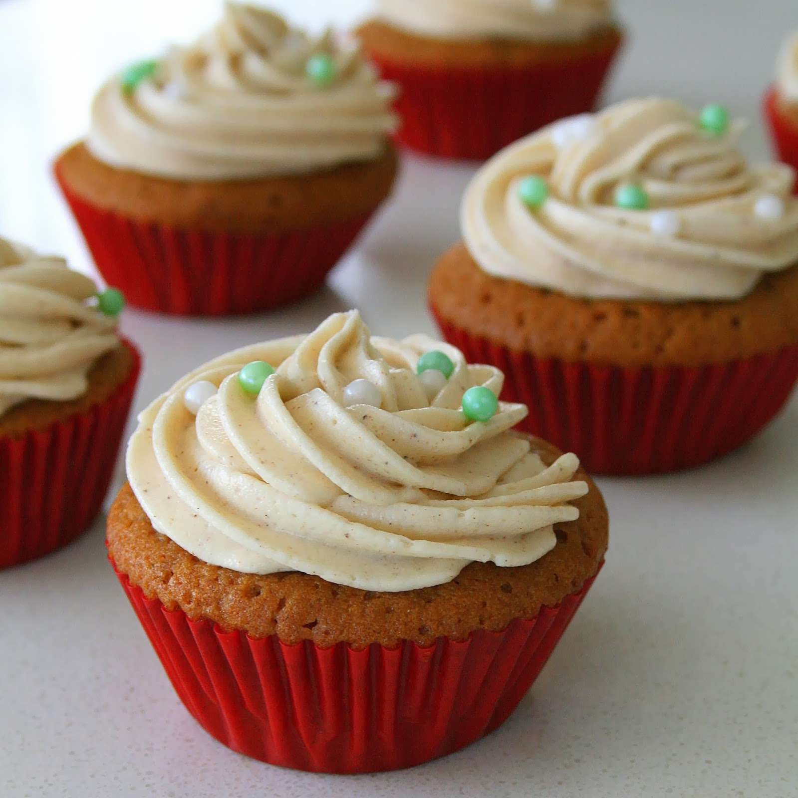 Gingerbread Cupcakes From Spice Cake Mix