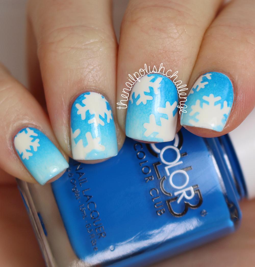 Snowflake Nail Art: Kelli Marissa: Snowflake Nail Art With Live Love Polish