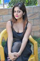 Pragya Nayan New Fresh Telugu Actress Stunning Transparent Black Deep neck Dress ~  Exclusive Galleries 079.jpg