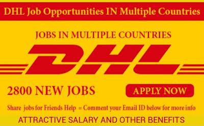 New International Vacancies at DHL World wide