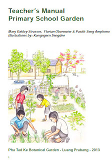 English book cover of Teacher's Manual Primary School Garden