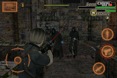 Tampilan Game Resident Evil 4 Android