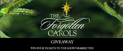The Forgotten Carols Giveaway by Michael McLean