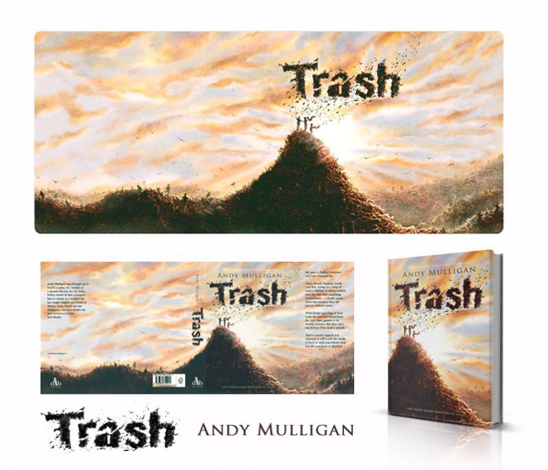 Full jacket of Trash by Andy Mulligan