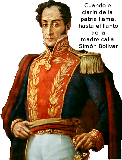 Manuel Isidro Molina Honor Y Gloria Al Libertador Simón Bolívar