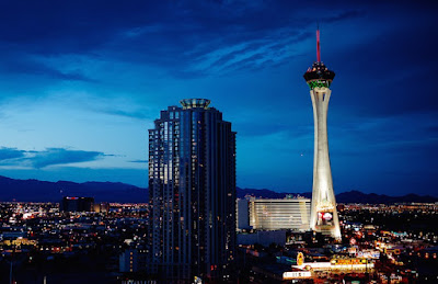 Stratosphere Hotel and Stratosphere Tower At 1149 Feet High