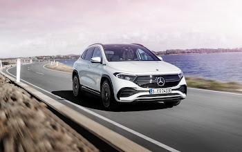 """Mercedes giới thiệu EQA 2021, chiếc xe điện cỡ nhỏ giá """"rẻ"""" nhất của dòng EQ"""