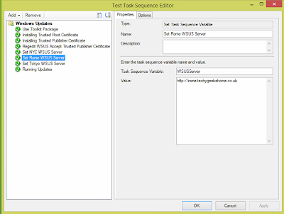 Windows Updates during SCCM OSD from Replica WSUS Servers 9