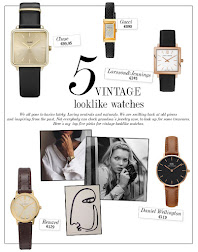 TOP 5 - VINTAGE LOOKLIKE WATCHES