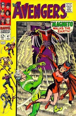 Avengers #47, Magneto