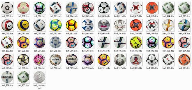 PES 2016 Ball Repack (50 Ball) V2