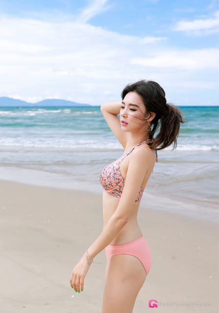 Park Da Hyun - Beachwear Set 3- very cute asian girl - girlcute4u.blogspot.com (2)