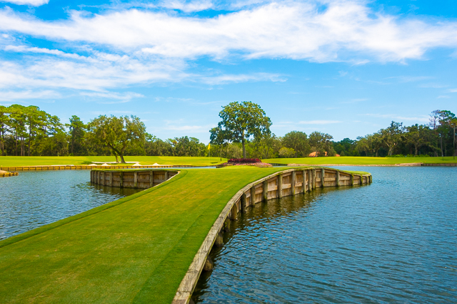 17th green TPC Sawgrass Clubhouse - Ponte Vedra, FL