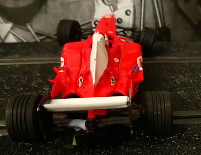 Alerón trasero del Ferrari F2004 Nº2 C3 Scalextric Tecnitoys