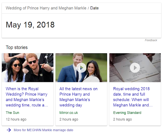In respect to Prince Harry and Meghan Markle(might or might not happen - nobody really cares of it does or not).