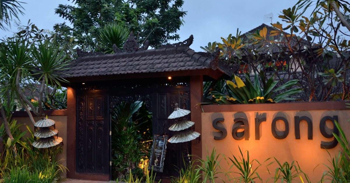 W Hotel Seminyak Restaurant