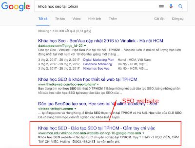 Sử dụng kênh google để xây dựng hệ thống kinh doanh online